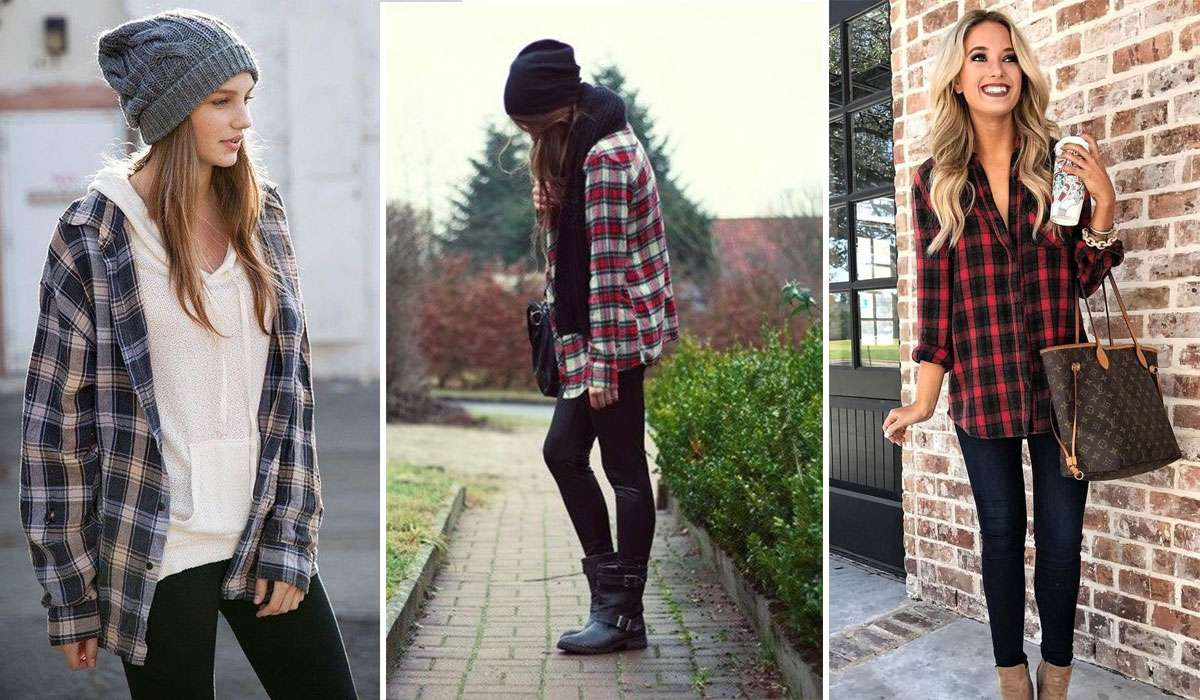 76ce97f5d2 Cute Outfits with Flannels in 2019 - 11 New Trends - Plaid Lover