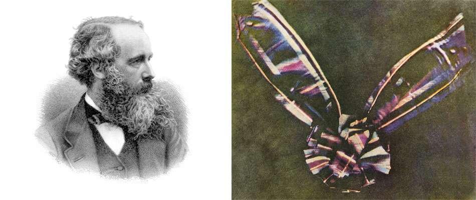 james clerk maxwell tartan ribbon first photograph