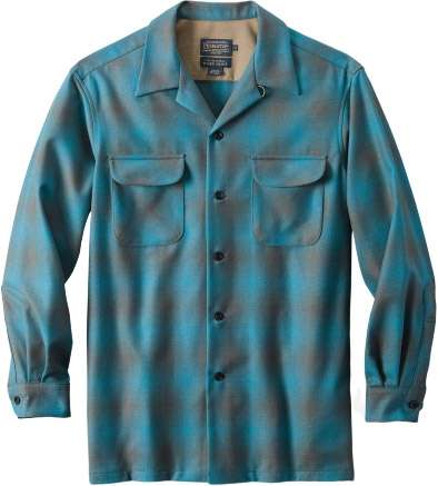 mens fitted board flannel shirt