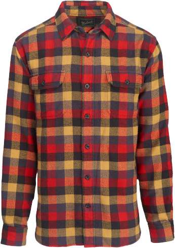 mens oxbow bend plaid flannel shirt